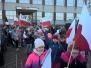 100 flag Polski na 100 - lecie odzyskania niepodległości przez Polskę