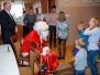 Mikołaj w Domach dla Dzieci i Młodzieży w Łoniowie