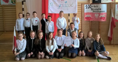 100 flag Polski na 100 – lecie odzyskania niepodległości przez Polskę