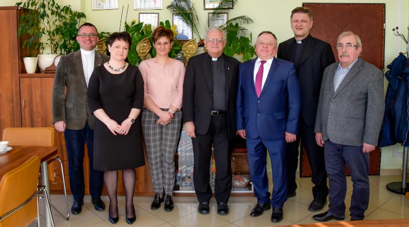 Generał Zgromadzenia Zmartwychwstańców w Gminie Łoniów