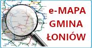 e-mapa Gminy Łoniów